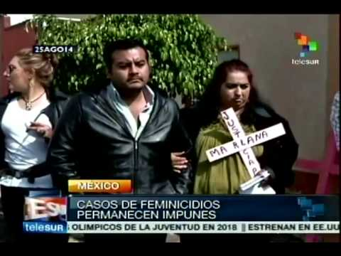 Three cases of feminicide reported in Mexico daily