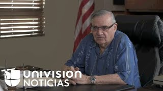 """I will never apologize"", former sheriff, Joe Arpaio."