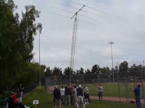 SOARA Tower Raising 2010 Field Day