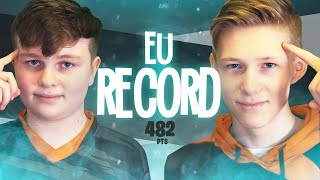 WE BROKE EU's RECORD || Duo Cash Cup w/Benjyfishy ROUND 1