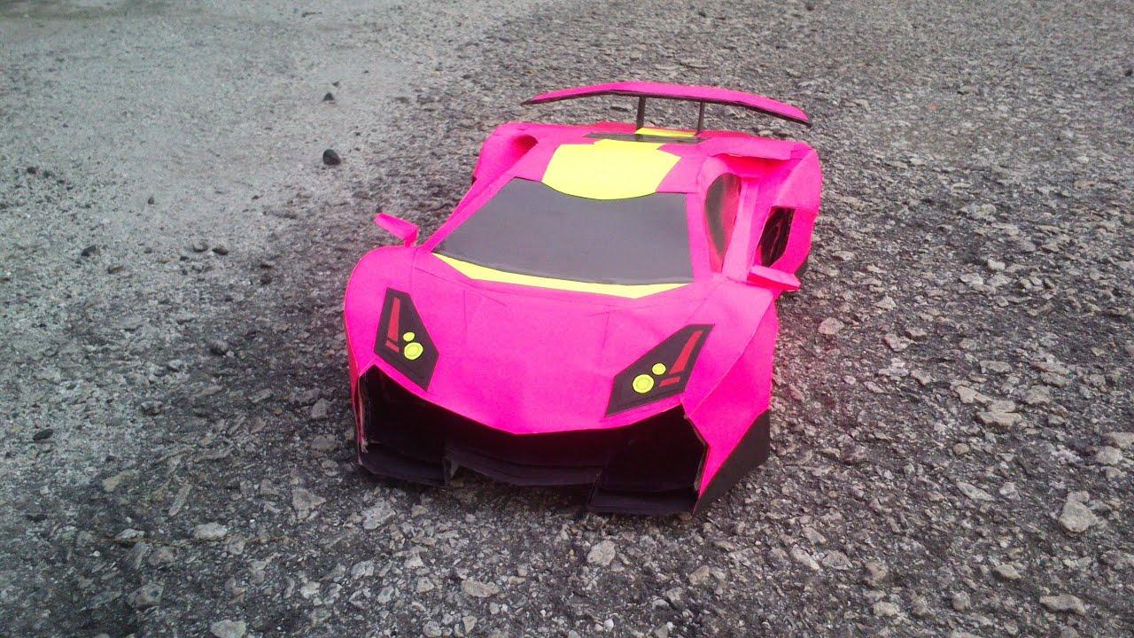 Papercraft Car Lamborghini Create Papercraft Car
