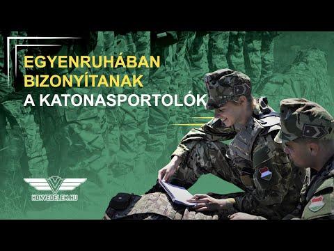 Egyenruhában bizonyítanak a katonasportolók