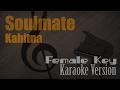 Kahitna - Soulmate (Female Key) Karaoke Version | Ayjeeme Karaoke