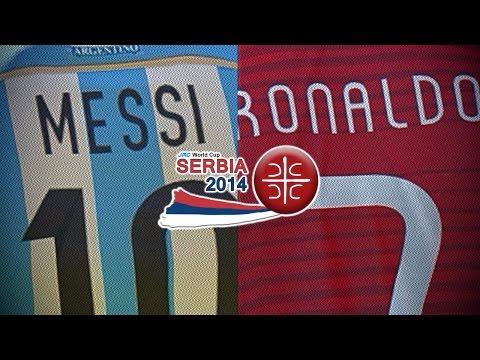 Lionel Messi vs. Cristiano Ronaldo Trailer | jmc World Cup Serbia 2014