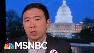 Full Andrew Yang: 'I'm Already Peeling Off Thousands Of Trump Supporters' | MTP Daily | MSNBC