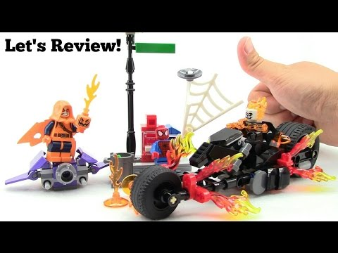 LEGO Spider-Man: Ghost Rider Team-up 76058 Let's Review!