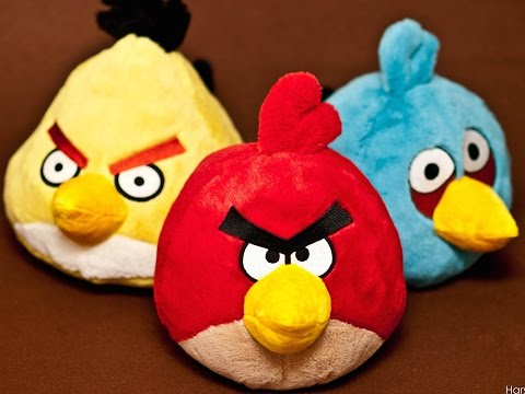 Angry birds video clip. Kids toys. toys for children / 愤怒的小鸟 兒童玩具 /