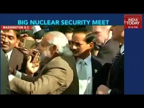 Modi In USA To Attend Nuclear Summit