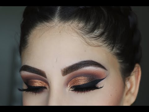 Golden Brown Smokey Eye Tutorial  | Subculture Palette