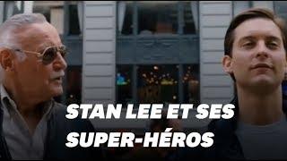 Stan Lee et ses apparitions dans les films Marvel