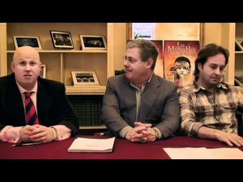 The Les Mis Contract - Matt Lucas, Cameron Mackintosh & Alfie Boe