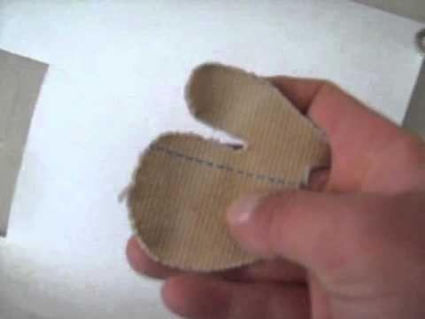 How to Use a Finger Tab For Archery Homemade Archery Finger Tab