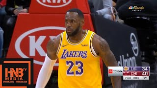 Los Angeles Lakers vs Chicago Bulls - 1st Half Highlights | November 5, 2019-20 NBA Season