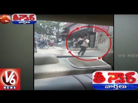 Hyderabad Police Buying Booze Slapped With Memo | Teenmaar News