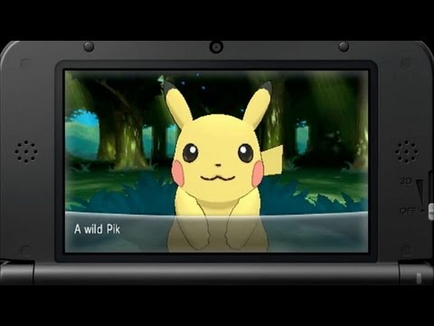 Pokémon X & Y Trailer for Nintendo 3DS