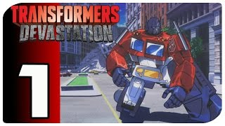 Transformers Devastation Parte 1 Gameplay Español Vesion Pc 1080p 60fps