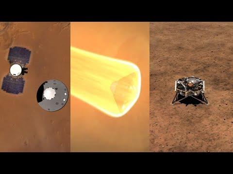 NASA InSight landing on Mars explained