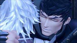 Xenoblade Chronicles 2 Jin and Malos farewell voiced