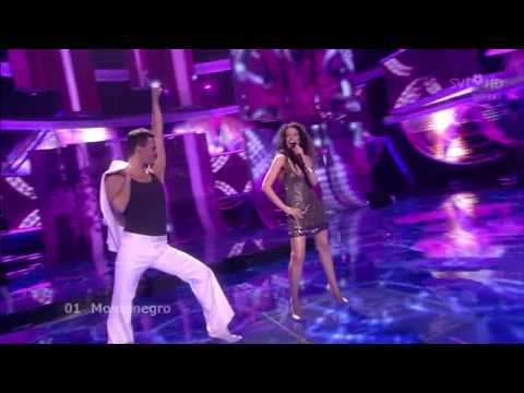 01 - Eurovision Song Contest 2009 - Montenegro - 1ª Semifinal (HD)