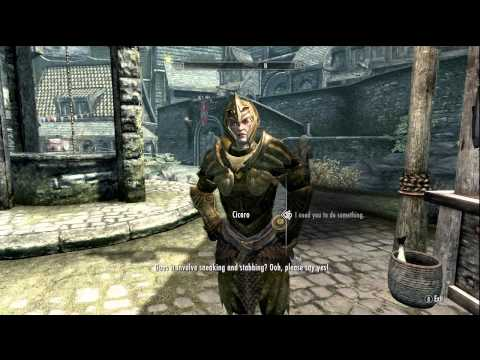 Skyrim Followers ~ Cicero Oils Mother
