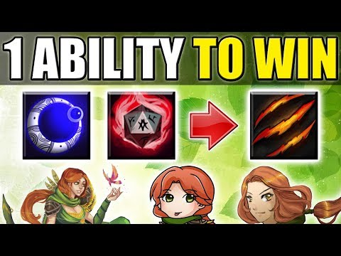 Strongest Passive Ability in Ability Draft [Fury Swipes = EZ Game] Dota 2