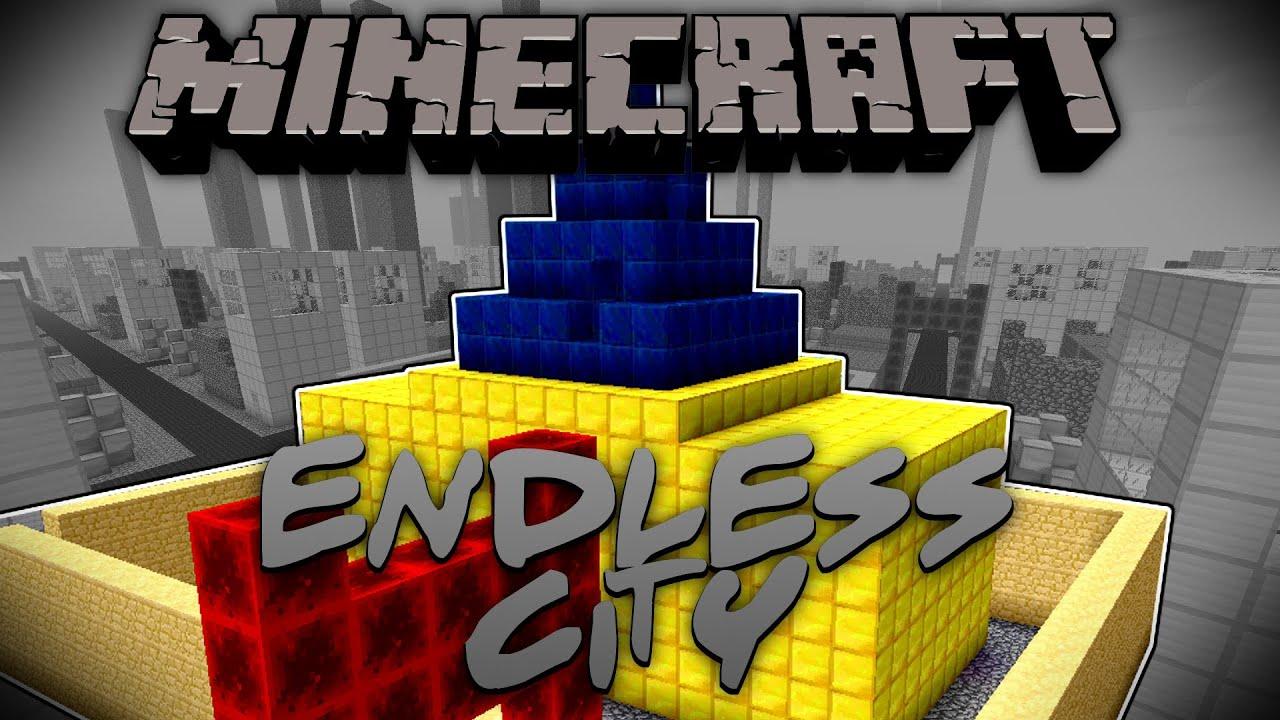 Minecraft Mod Endless City