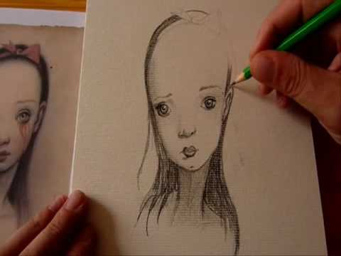 Speed drawing (Mark Ryden)