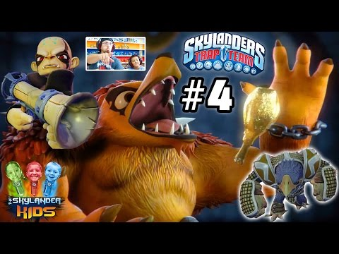 Lets Play Skylanders Trap Team: Chapter 4 - Phoenix Psanctuary w/ Cuckoo Clocker, Chill Bill...
