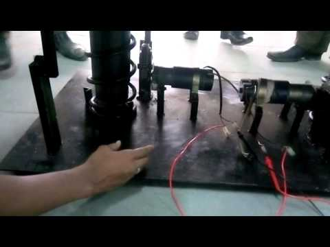 FABRICATION OF POWER GENERATION FROM THE RACK AND PINION SYSTEM