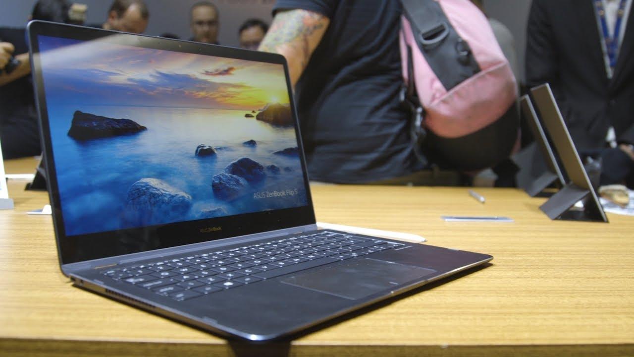 Asus ZenBook Flip S First Look - Computex 2017
