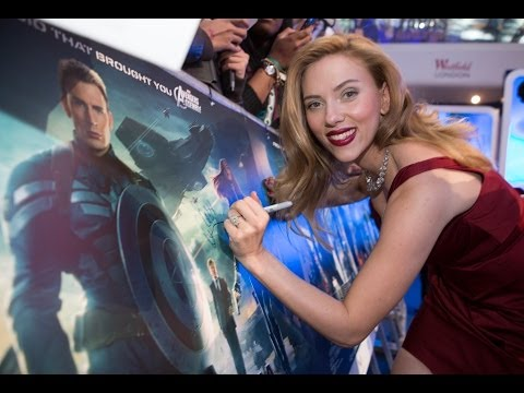 Captain America The Winter Soldier - UK Premiere OFFICIAL UK Marvel   HD
