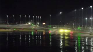 IMSA SportsCar Championship 2017. Rolex 24 At Daytona. Nic Jonsson Crash