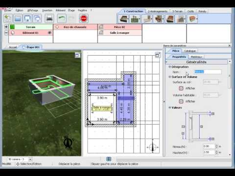 3d home design by livecad tutorials 01 first step youtube for Tutorial for home design 3d
