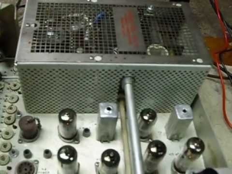 Collins KWM-2,KWM-2A ,restoring and fixing old amateur radios,Using the Heathkit power supplies