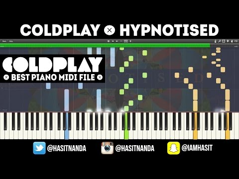 Coldplay - Hypnotised (FULL PIANO TUTORIAL)