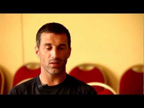 L'expérimenté gardien de but Rudy Riou nous livre ses premières impressions après une semaine de participation au stage UNFP 2012.