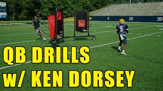 Ken Dorsey - Quarterback Passing Drills