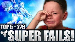 Destiny: Funny Top 5 Super Fails Of The Week / Episode 276