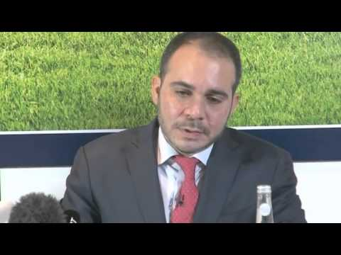 VIDEO: FIFA Presidential candidate Prince Ali challenges Sepp Blatter to debate