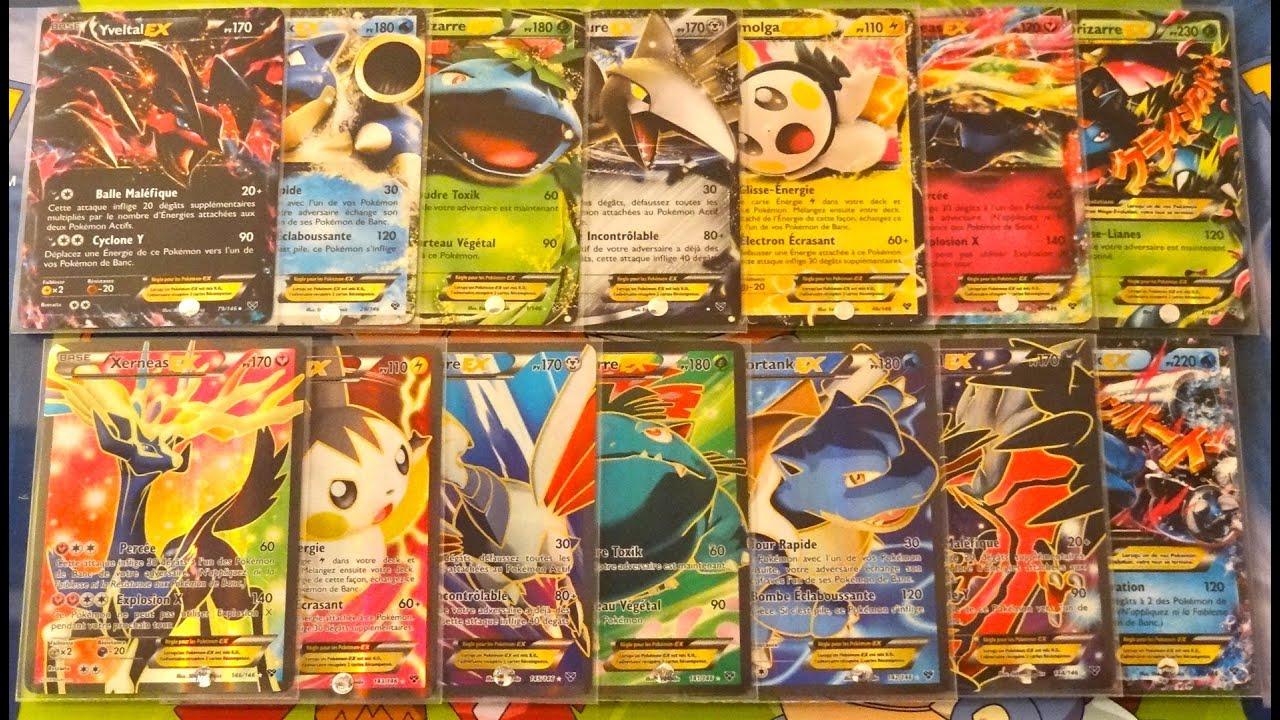 Carte pokémon xy