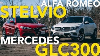 2018 Alfa Romeo Stelvio vs Mercedes-Benz GLC Comparison