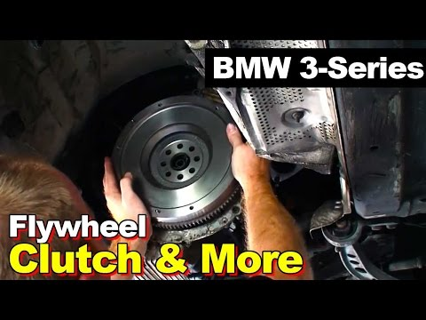 1998 BMW E36 3-series Clutch Assembly. Flywheel. and Rear Main Seal Replacement