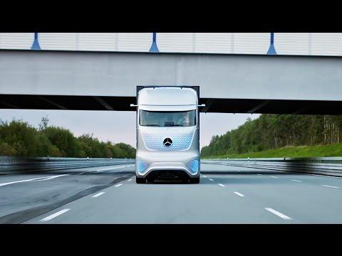 Mercedes Future Truck 2025 - Autonome LKW-Zukunft
