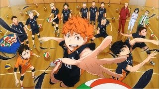 Haikyuu!! All Opening 1-4 ハイキュー!!【HD】