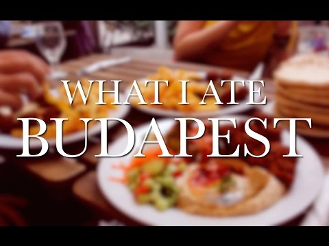 WHAT I ATE BUDAPEST - 3 days of cheap, vegan travel food