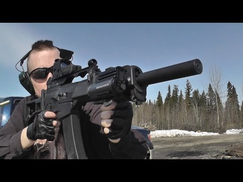 10/22 Nomad and SKS in ATI Strikeforce stock - first firing