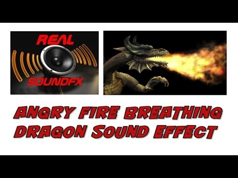 Dragon Breathing Fire Sound Fire Breathing Dragon Angry