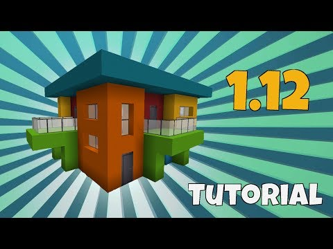 Papier Haus Bauen Part - Minecraft modernes haus bauen part 1