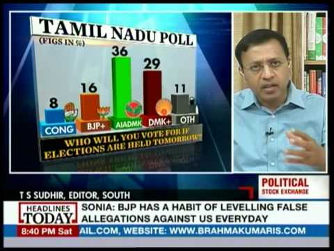 Political Stock Exchange: Will it be Jayalalithaa all the way in Tamil Nadu?