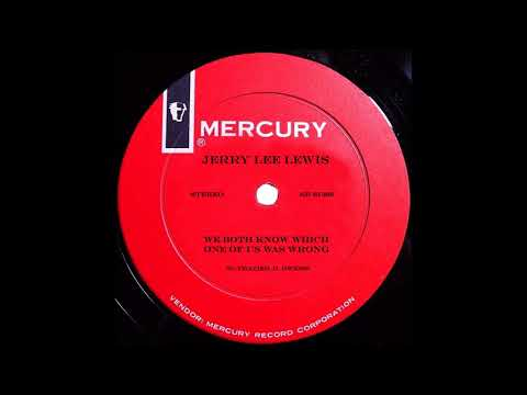 Jerry Lee Lewis - We Both Know Which Way Of Us Went Wrong
